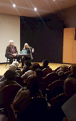 "Presentation of the book ""Letters: 1925-1975"" in the Jewish Community of Zagreb"