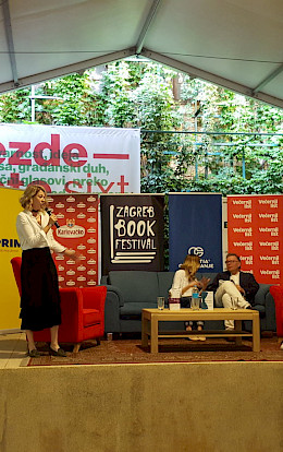 Ari Turunen at the Zagreb Book Festival 2018.